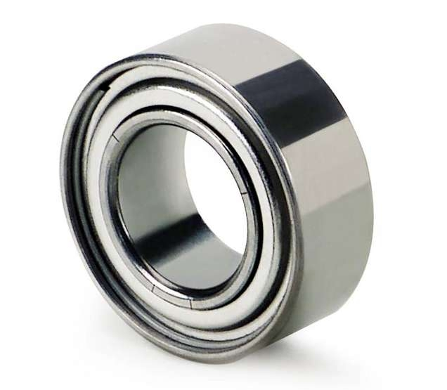 rubber coated micro bearings